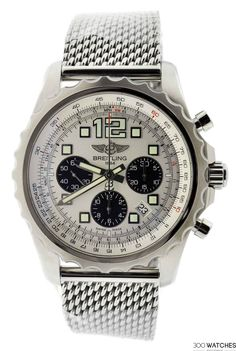 Mens Breitling Chronospace SS Chronograph Automatic Date | chronograph watches for men Item ID: 300W109340 | 300watches