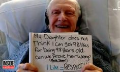 98-Year-Old Aims To Get 98 Facebook Likes For His Birthday, Ends Up With 22,000