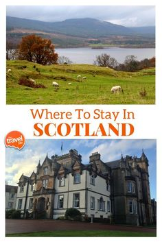 Recommendations for where to stay in Scotland, from Edinburgh to the highlands. From travel and food expert Rachelle Lucas of TheTravelBite.com.  Story --> http://thetravelbite.com/travel_and_food_blog/where-to-stay-in-scotland/