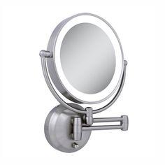 Amazon jerdon hl88nl 85 inch led lighted wall mount makeup zadro make up mirror ledw410 next generation cordless led lighted wall mount vanity mirror aloadofball Images