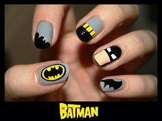 #BatmanNails #Batman #Nails