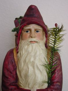Belsnickle Santa. Repinned by www.mygrowingtraditions.com