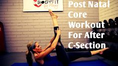 This 12 minute workout use safe and effective exercises to strengthen and tone your abs after a C-section. Learn to work the abs from the inside out gently, ...