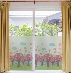 Awesome kinderzimmer fensterdeko gardinen mit niedlichen farben Badezimmer Ideen u Fliesen Leuchten Dekoration Pinterest Fensterdeko Sch ne kinderzimmer