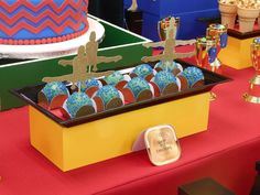 Gymnastics Birthday Party Ideas   Photo 1 of 14