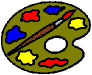 Artist- Mobile using all the Activity pins for Webelos link has pics of most of the pins to print out for each Webelo