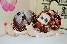 Giachetti Handmade: Улиточки \ Snails