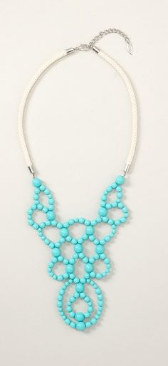 Just purchased this over-sized turquoise necklace. Comes to $18 with tax, and free shipping!