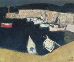 Willem Oepts (DUTCH, 1904-1988) A mediterranean harbour