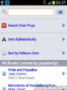 Download Free Ebooks Library  Android App - playslack.com , Download thousands of free e-books and feed your android device with fresh reading material.Enjoy unlimited free reading! Discover the best ebooks for free.This App shows you the daily growing list of freely downloadable ebooks.Thousands of free ebooks and free android ebook readers for you to download.