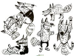 Coffee Doodle Sketches on Behance