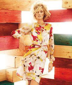 Wind-Blown Bouffants : Vibrant Womenswear Campaigns