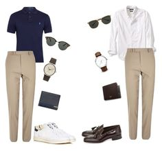 one pants two looks by hilalozkan on Polyvore featuring Polo Ralph Lauren, Banana Republic, River Island, Tom Ford, adidas, Ted Baker, Topman, Mulberry, men's fashion and menswear