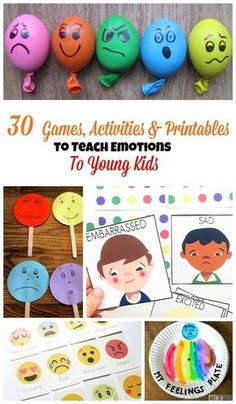 Teaching 528047125057478734 - 30 Games, Activities and Printables to Teach Emotions to Young Kids Source by nathdh Emotions Game, Emotions Preschool, Teaching Emotions, Preschool Activities, Teaching Kids, Kids Learning, Children Activities, Feelings And Emotions, Learning Through Play