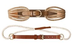 Jute Merona belts, available at the end of February (Target). I want the top one!