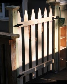 My Great Challenge: Dog Gate for your Deck
