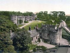 castles of england | Skipton Castle, Yorkshire, England - www.old-picture.com/europe ...