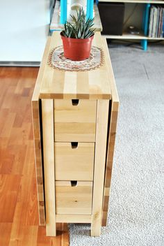Space saving dining table from ikea small spaces pinterest space saving dining table from ikea watchthetrailerfo