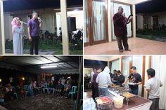 Malam Evaluasi Peserta Rombongan Unizar Mataram Goes To Pare serta makan malam di dekat danau Bratan Bedugul Bali