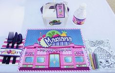Shopkins Party by Ashleigh Nicole Events | CatchMyParty.com