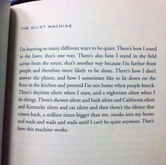 """""""The Quiet Machine"""" by Ada Limon Poem Quotes, Wall Quotes, Great Quotes, Words Quotes, Sayings, Pretty Words, Love Words, Beautiful Words, Einstein"""
