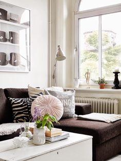 Un apartamento romántico y femenino | Decorar tu casa es facilisimo.com