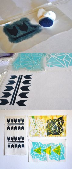 DIY, Print your own fabric.