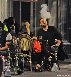 | Charlie Hunnam Smolders During a Casual Night Out in London | POPSUGAR Celebrity Photo 1