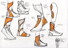 Bull Original_Hand Sketches_Footwear by Fiona Lesecq at Coroflot.com