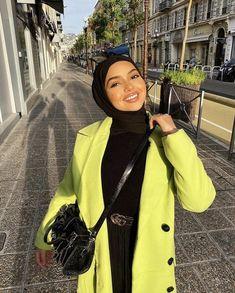 Modest Fashion Hijab, Modern Hijab Fashion, Street Hijab Fashion, Hijab Fashion Inspiration, Muslim Fashion, Abaya Fashion, Hijabi Girl, Girl Hijab, Hijab Outfit