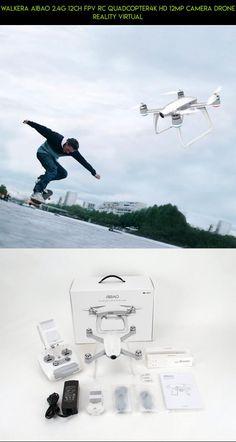 Walkera Aibao 2.4G 12CH FPV RC Quadcopter4K HD 12MP Camera Drone Reality Virtual #drone #parts #kit #products #4k #camera #plans #tech #gadgets #shopping #racing #fpv #aibao #walkera #technology