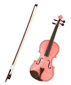 Take a look at this Pink Full-Size Violin Set by New Dimensions on #zulily today!