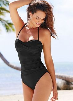 84a64c2c37046 70 Best Black Swimsuits One Pieces Bikinis Maillots images