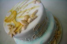 prima #comunione e stelle marine. torta della pasticceria La Mimosa di http://www.simocakedesigner.it