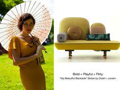 Urbanspace Interiors – Furniture + Fashion Mash-Up: Moroso on the Street