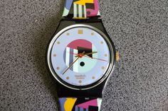 Swatch Gold Inlay GB141 1991 Fall Winter Collection Standard Gents 34mm, Genuine Swatch with original band   Tags : swatch watches women, vintage swatch watches, 80's swatch watches, swatch watches silver, swatch watches 2016, mens swatch watches, swatch watches irony, swatch watches chrono, swatch watches automatic, black swatch watches, swatch watches scuba, swatch watches classic, swatch watches for men, swatch watches retro, swatch watches orange,
