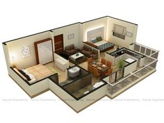 Http://www.rayvatengineering.com/3d Floor Plan/   The Demand For The Hand  Drawn Renders Have Decreased To A Point Of Non Existence, With The Adventu2026