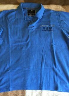 Kaufe meinen Artikel bei #Kleiderkreisel http://www.kleiderkreisel.de/herrenmode/t-shirts/139716702-blaues-polo-shirt-von-basefield-in-xxl