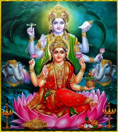 "☀ SHRI LAKSHMI NARAYANA ॐ ☀ Shri Vishnu said: ""When the heart is cleansed of all material contamination, the devotee's mind becomes broader and transparent and he can see things equally. At that stage of life there is peace, and one is situated..."
