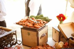 Delicious live action pasta station #wedding #food   Wedding Foods ...
