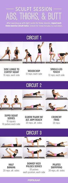 Abs, thighs & glutes toning circuit #fitness #circuittraining #workout