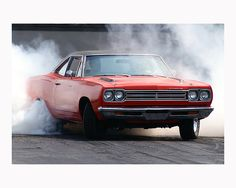 1969 Plymouth Roadrunner Burnout!