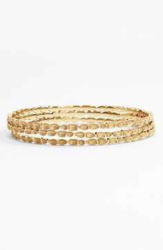 Must have..... Melinda Maria 'Mosaic' Bangle Set (Set of 3) (Nordstrom Exclusive) | Nordstrom