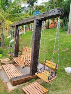 Backyard Projects, Outdoor Projects, Backyard Patio, Backyard Landscaping, Wood Projects, Backyard Ideas, Pergola Ideas, Easy Projects, Outdoor Ideas