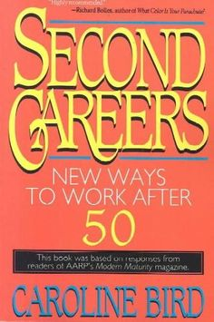 Based on a survey of six thousand senior citizens by Modern Maturity magazine, this guide describes the rewards of embarking on a new career after age fifty, and provides detailed discussions of job-h