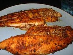 """Smoked Catfish Catfish were readily abundant in the Antebellum South and, due to their status as """"bottom feeders,"""" weren't deemed the most stylish dinner staples. Healthy Baked Fish Recipes, Fried Fish Recipes, Cajun Recipes, Best Chicken Recipes, Barbecue Recipes, Seafood Recipes, Game Recipes, Cajun Catfish Recipe, Catfish Recipes"""