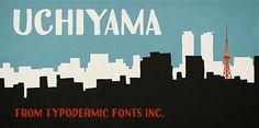 Tipografías apropiadas para diseño de marca: Uchiyama