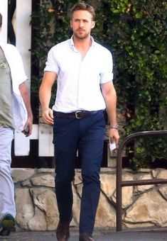 Shop colours, ryangosling, trends, outfit, shirt, trousers on SeenIt - 52171
