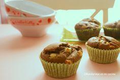 Magdalenas 2 chocolates