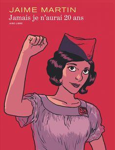 Jamais je n'aurai 20 ans, Jaime Martín chez Azimuts à Montpellier en dédicace le 4 novembre et le 5 novembre à Narbonne